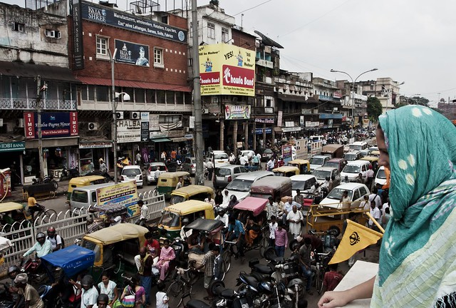 Molly over Old Delhi