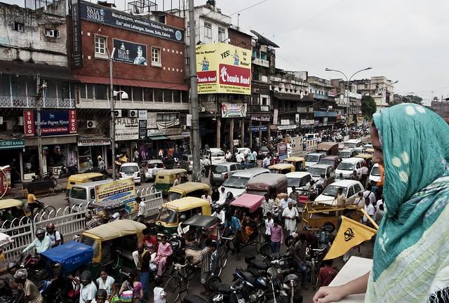 Molly over Old Delhi