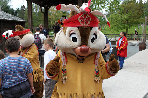 Meeting Native American Dale