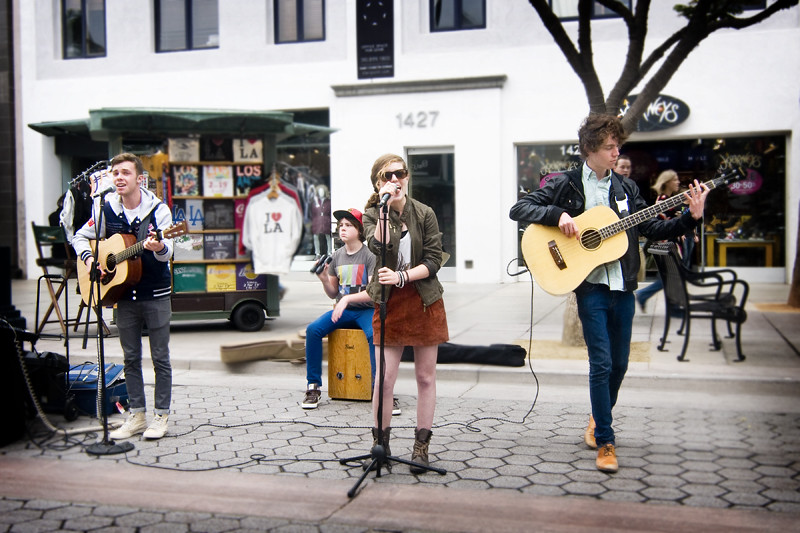 Echosmith at Third St. Promenade