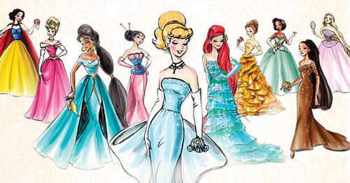 Disney Princess Designer Collection Concept Art Group