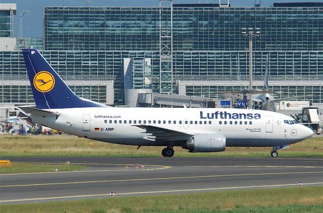 Lufthansa Boeing 737-500; D-ABIP@FRA;16.07.2011/609dh