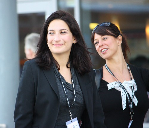 Luciana Berger and Gloria De Piero