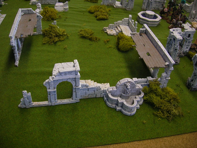 GW (Osgiliath Ruins) and Ziterdes Fountain