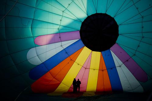 shadow hot colors silhouette sunrise air balloon inside greatrenoballoonrace