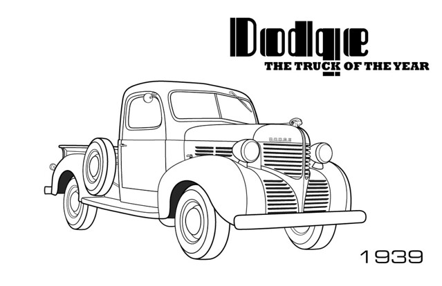 free dodge ram 1500 coloring pages