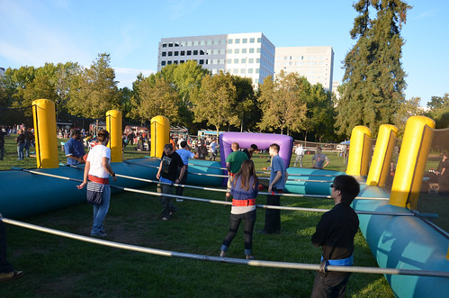 Human Fussball - Mozilla All Hands, San Jose, September 2011