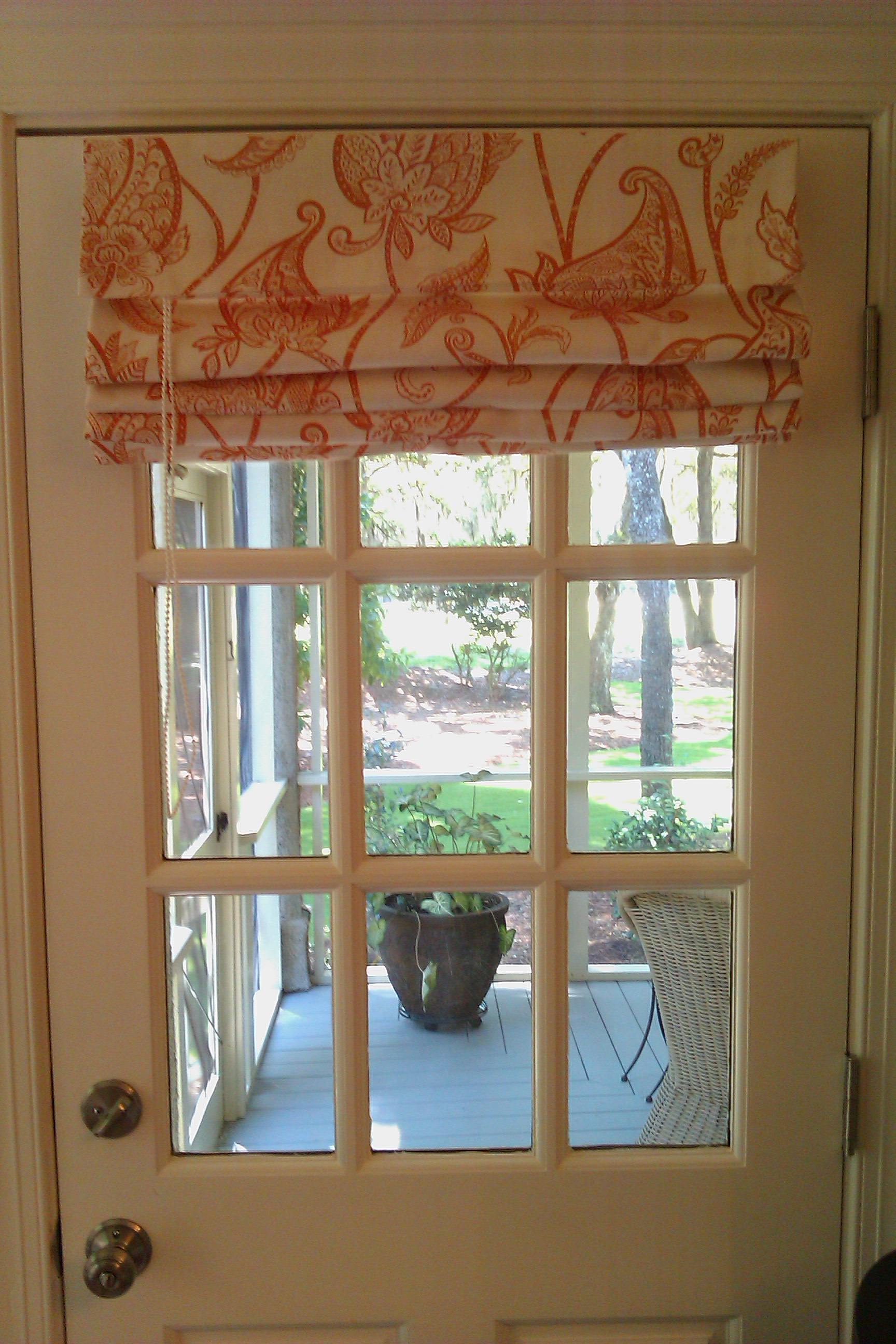 Kitchen Window Shade Ideas