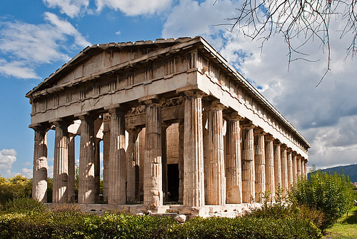 THE TEMPLE OF HEPHAESTUS, ATHENS, GREECE