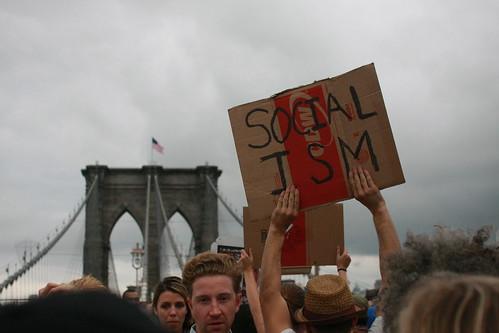 occupy socialism bridge2