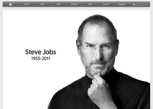 Steve Jobs Eulogized on the Apple Website