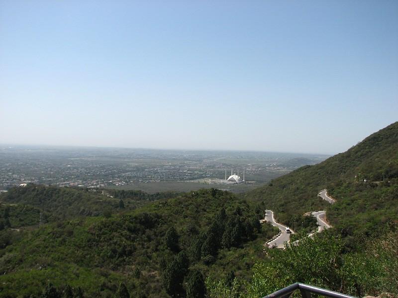 Islamabad Damn-e-Koh road