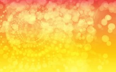 Nightlights Background in Bright Orange Peel by BackgroundsEtc