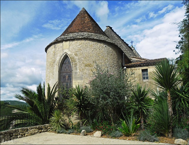 l'église de la Roque Gageac