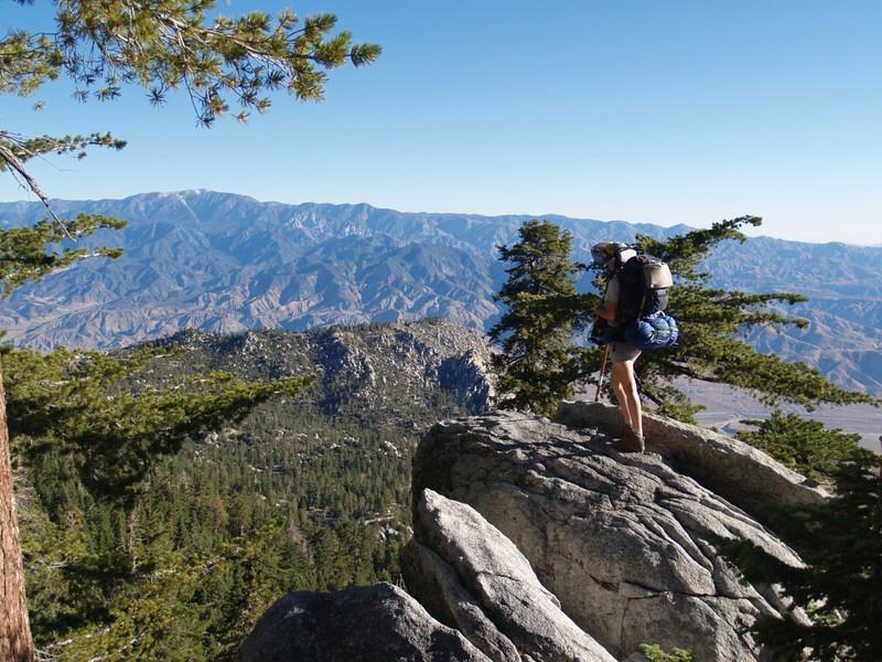 San Gorgonio Mountain from the Fuller Ridge Trail
