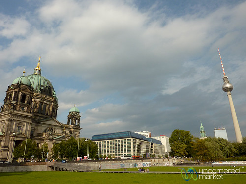 Berlin TV Tower and Berlinerdom