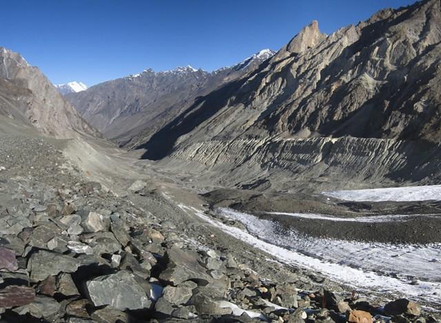 Pakora glacier.