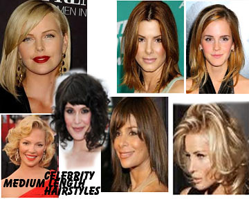 medium length hairstyles by yellowstar2000