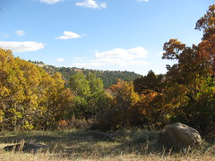 Autumn at Castlewood Canyon