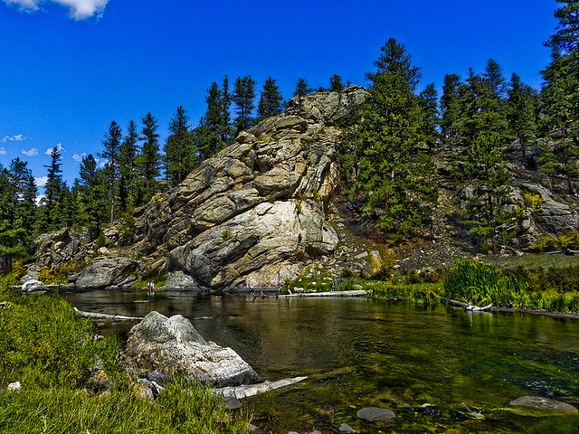 South platte river lake george colorado flickr photo for Eleven mile canyon fishing report