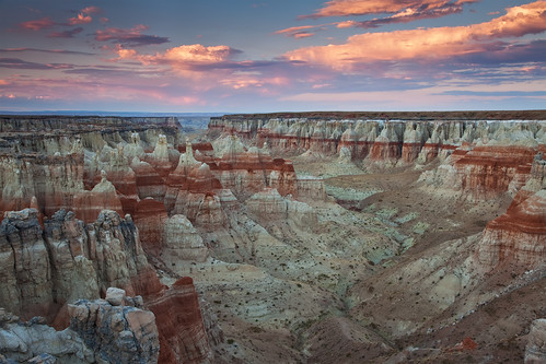A View from My Eyes - Coal Mine Canyon, Arizona