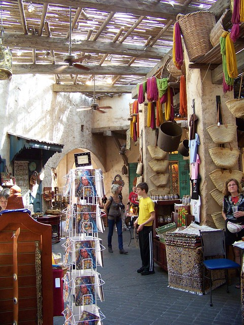 Marketplace in Morocco