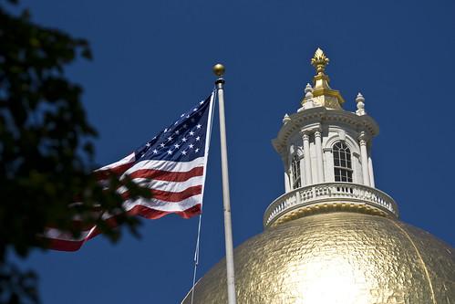Boston, Massachusetts - State House Golden Dome