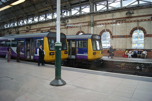 Northern Rail 142067 & 142057 at Manchester Piccadilly