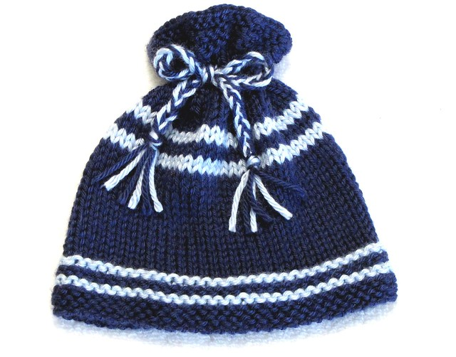 Baby Hat - pixie hat to knit - free knitting pattern from Crystal