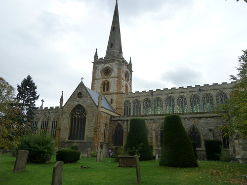 Holy Trinity Church, Stratford-upon-Avon, England