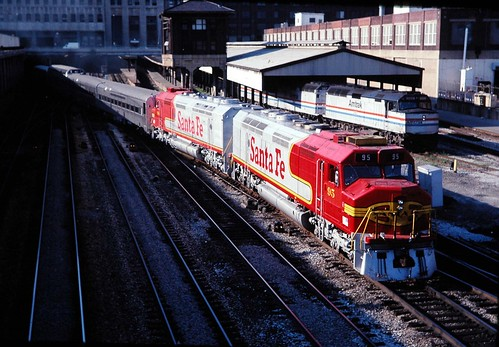 ATSF Harrison st tower 1991