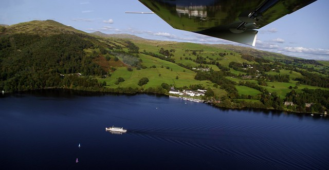 Lake Windermere from the air