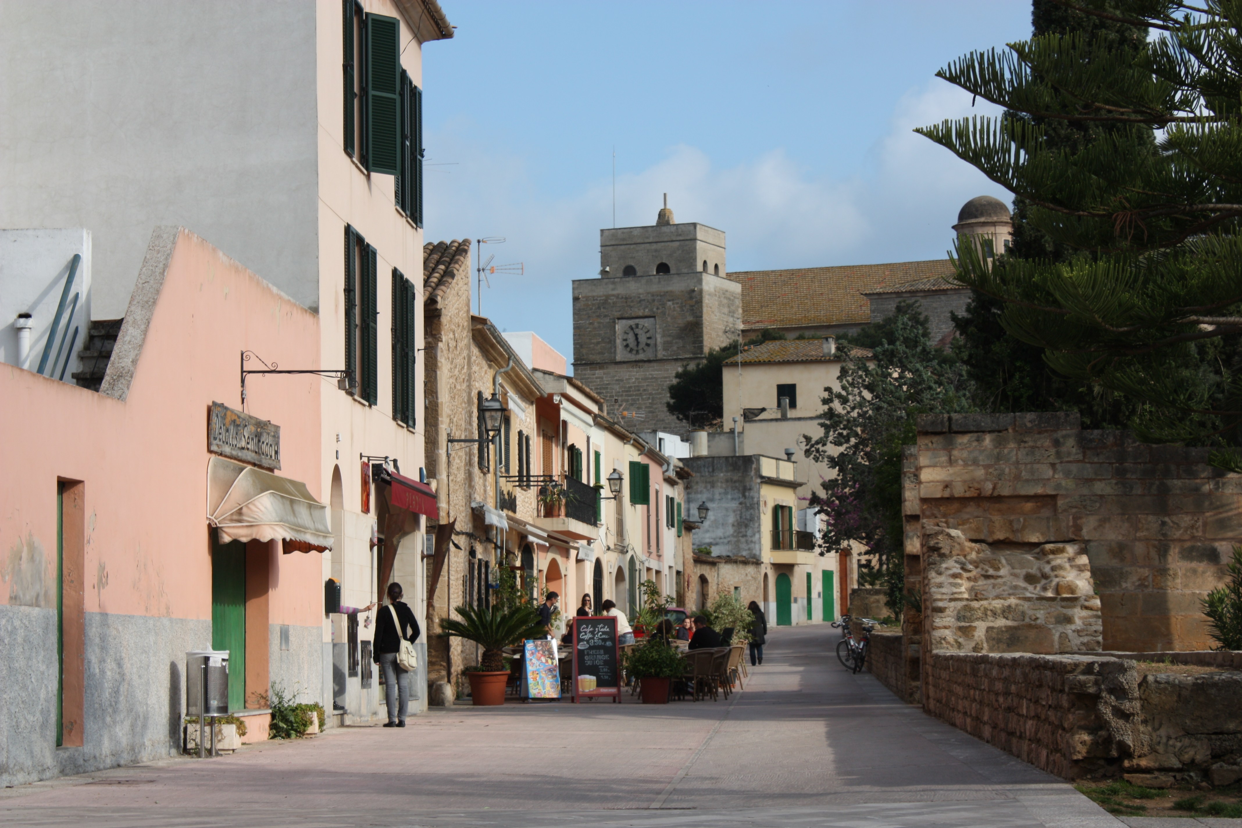 Buildings in Alcúdia Old Town