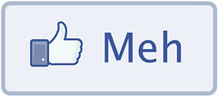 Facebook Meh Button