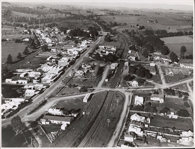Drouin Australia  city pictures gallery : Aerial view of Drouin, Victoria, during World War II [1] | Flickr ...