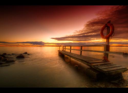 sunset sea water night clouds suomi finland helsinki meer heaven finnland schwimmen stones skandinavien wolken steine baden sonne hdr verkaufen lauttasaari steg felsen auringonlasku rettungsring scandinavien bestcapturesaoi