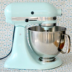 Kitchen Aid in duck egg blue