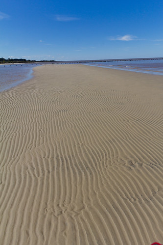 photo of a sandy shore
