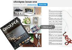 Chickpea Magazine 2012