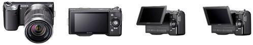 Sony NEX-5N – Tilting LCD