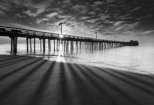 Shadow Play - Capitola Pier, Capitola CA