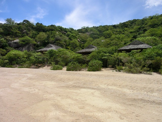 "Beach in front of ""Beach front Pool Villa"" - Six Senses Ninh Van Bay"