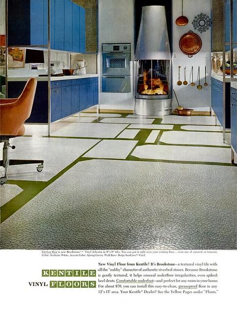 Kentile ad - 1964