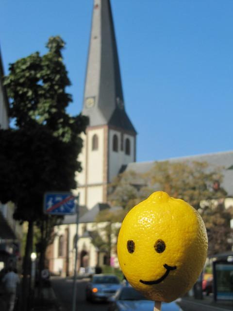 Kirche in euskirchen mit zitrone flickr photo sharing - Euskirchen mobel ...