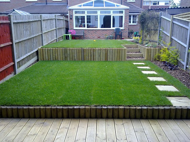 Terracing A Sloped Yard : Terracing a sloping garden  Flickr  Photo Sharing!
