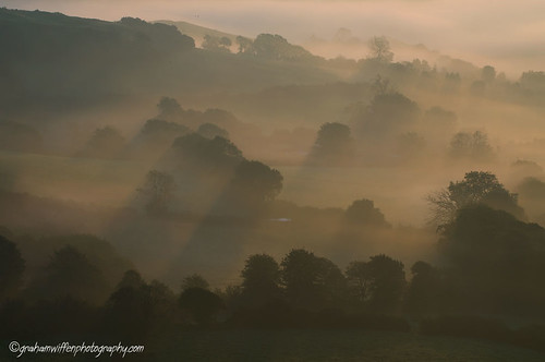 Morning Mists over Bridport