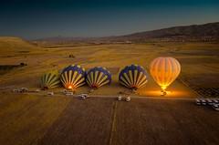 Balloon launch in Cappadocia [Explored]