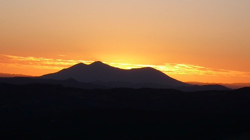 sunset mountkonocti