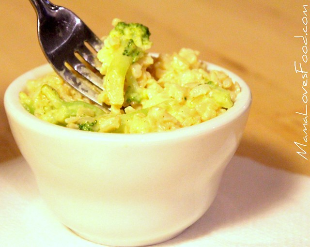 Broccoli Cheese Rice Recipe