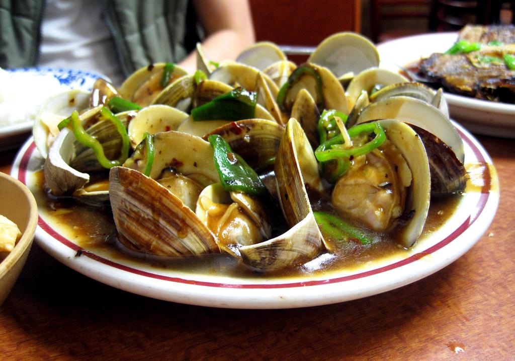 clams cantonese @ hop kee